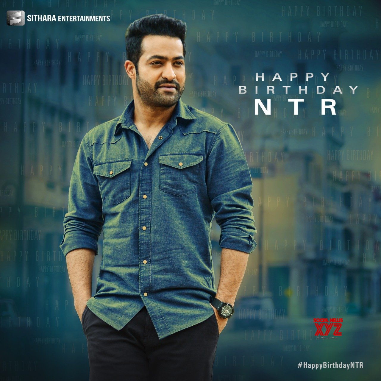 NTR Birthday 2020 Wishes Posters Set 2