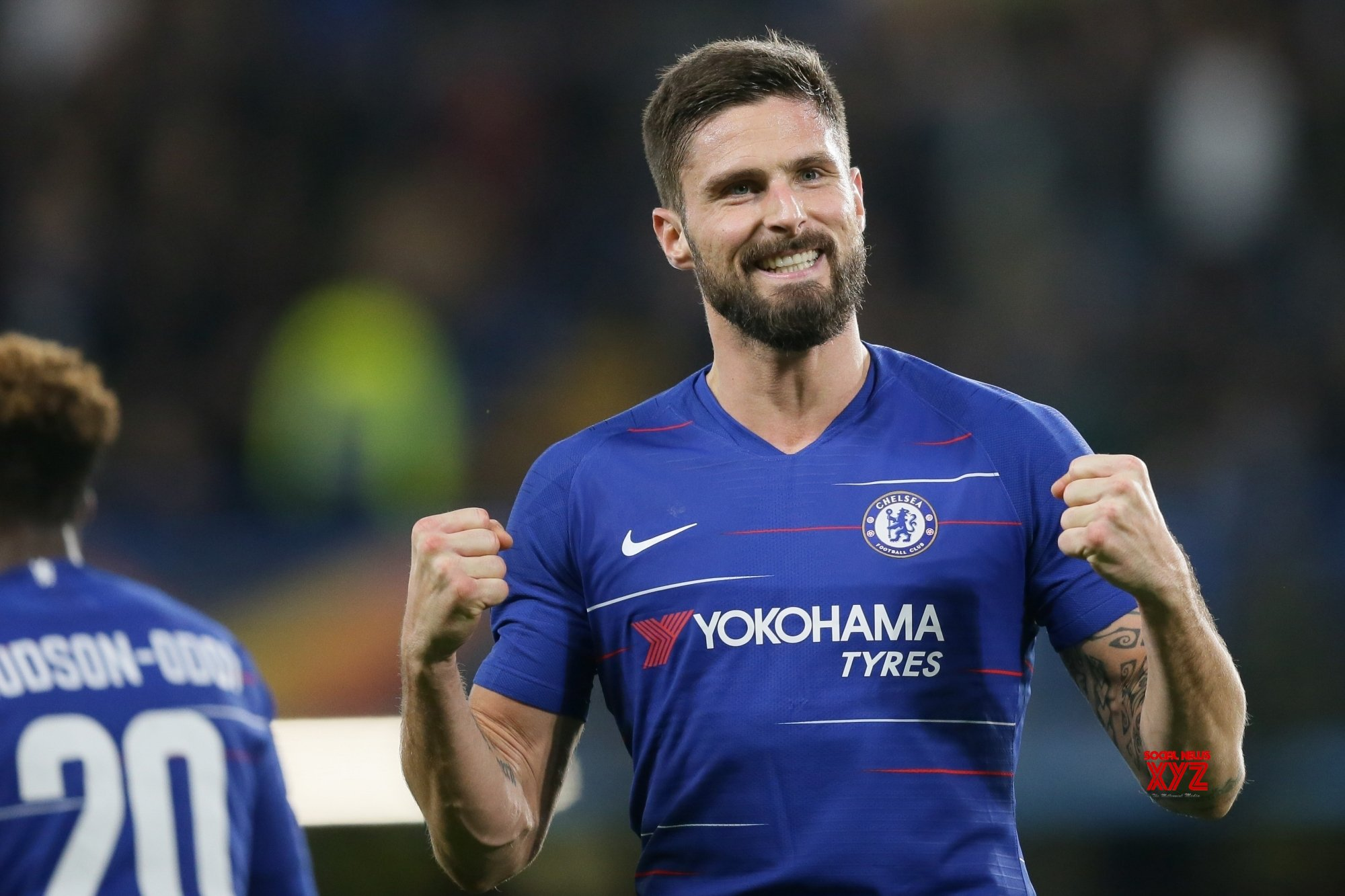 Giroud, Caballero sign one-year contract extension with Chelsea
