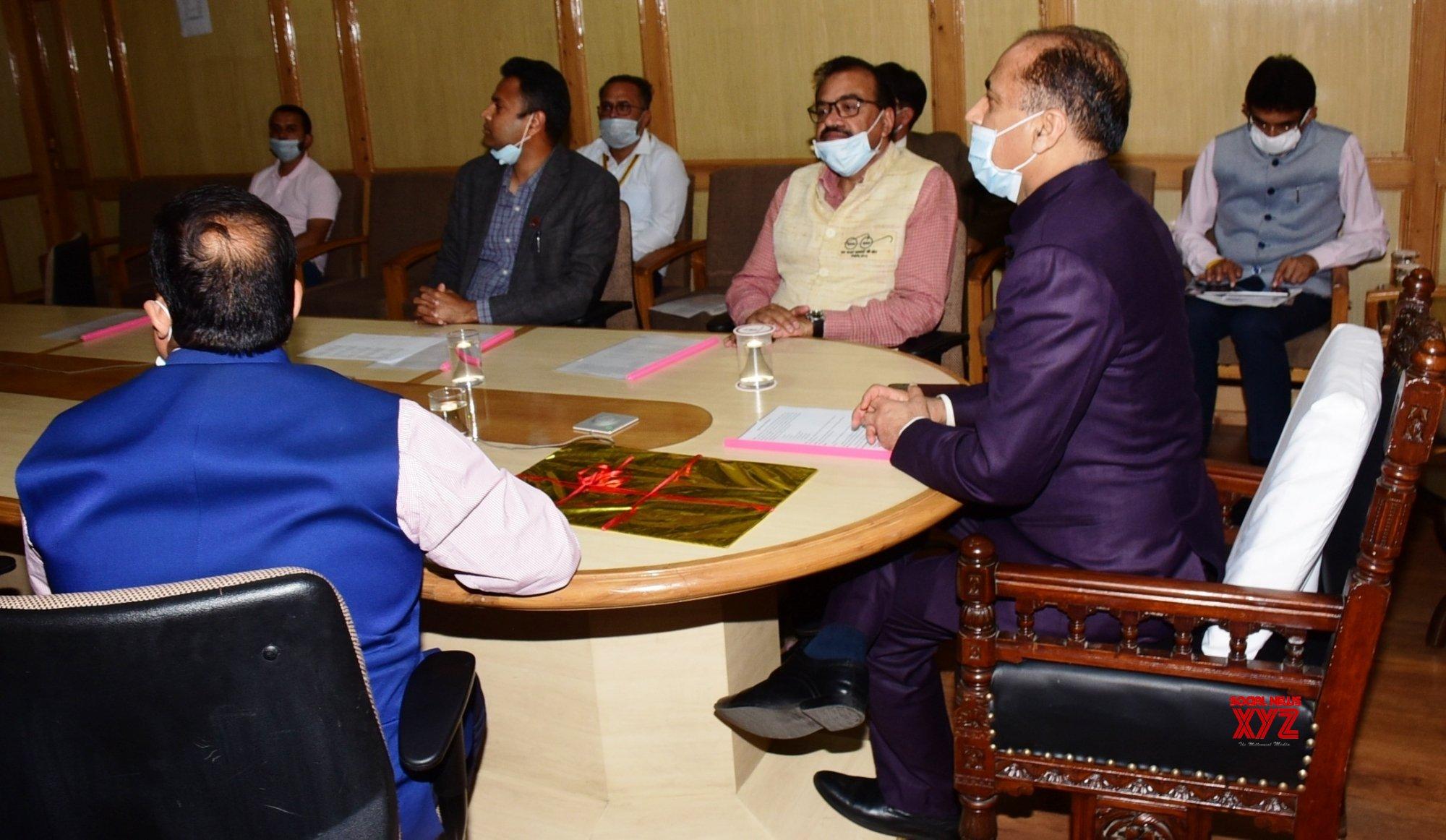 Shimla: Himachal CM launches Mukhya Mantri 1 Bigha Scheme #Gallery