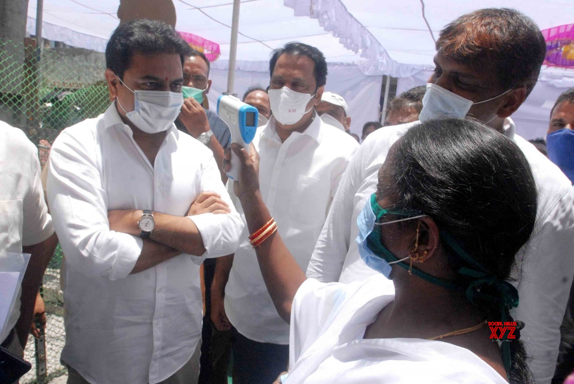 Hyderabad: KT Rama Rao inaugurates two Basti Dawakhanas during lockdown - 4 #Gallery