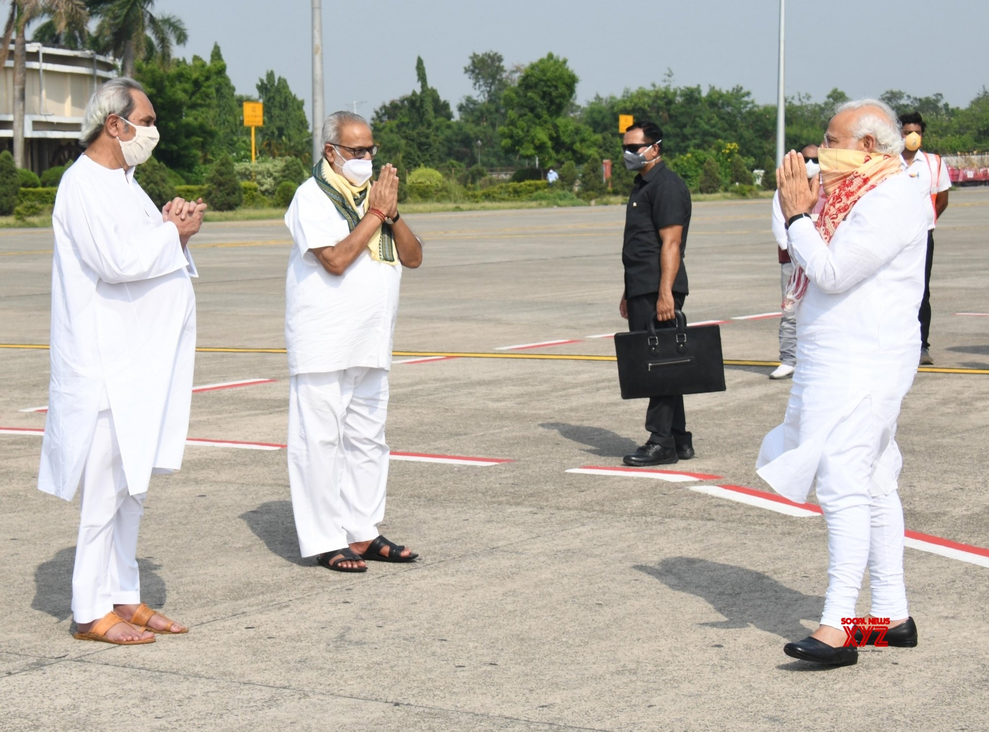 Bhubaneswar: Cyclone Amphan: PM Modi reaches Odisha to take stock of the situation #Gallery
