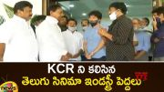 Telugu Film Industry Representatives Meeting With CM KCR (Video)