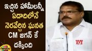 Minister Botsa Satyanarayana Praises CM YS Jagan Over Fulfilling All The Promises (Video)