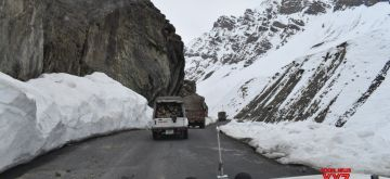 ITBP escorts 900 supply trucks to Kargil from Zoji La in Ladakh.