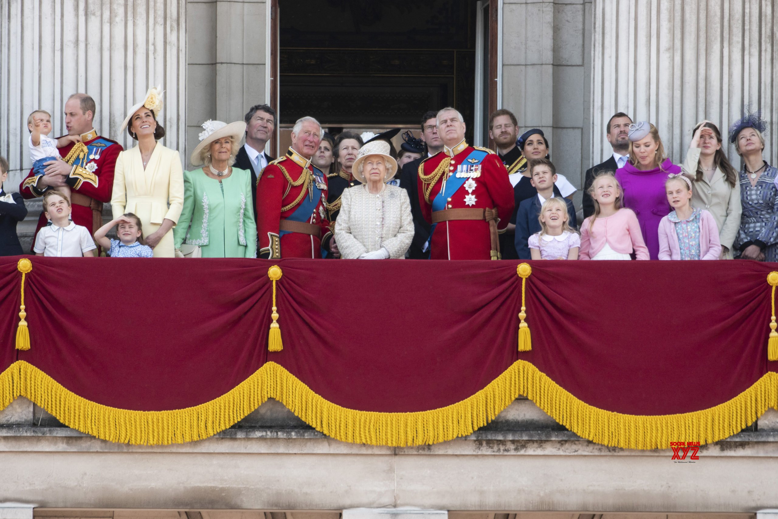 Scaled-down ceremony to mark Queen Elizabeth's official birthday