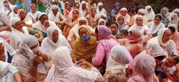 Gurdaspur: The grief-stricken relatives of Naib Subedar Satnam Singh who was killed in action in Galwan valley in eastern Ladakh; at his native village Vhoj raj in Gurdaspur district of Punjab on June 18, 2020. (Photo: IANS)