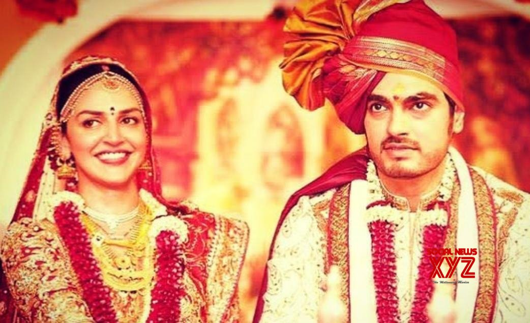 Esha Deol recalls her wedding day on eighth anniversary