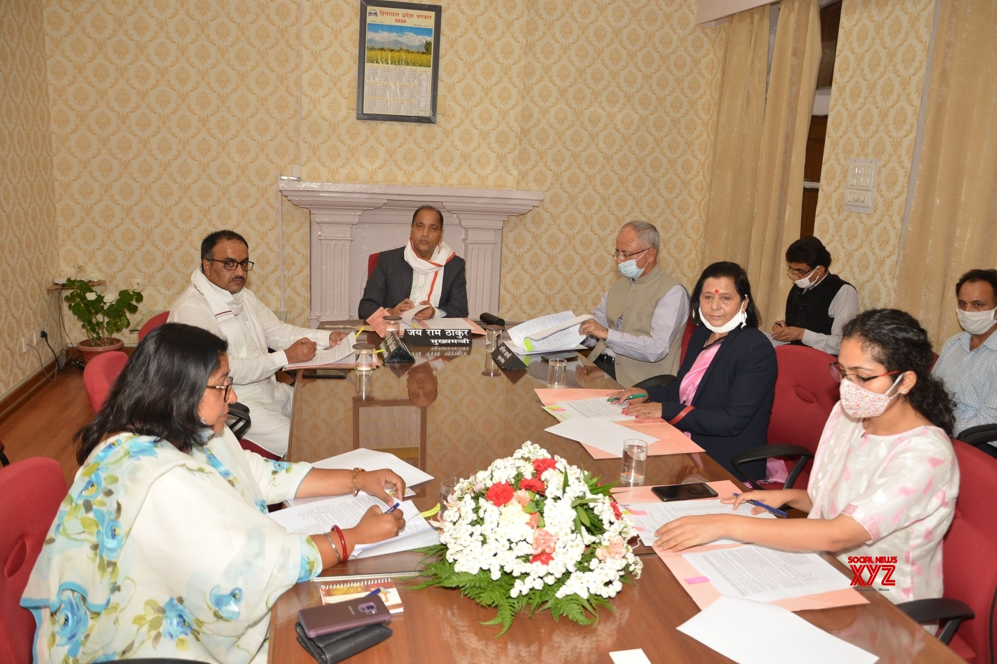 Shimla: Himachal CM chairs meeting over opening of Senior Citizen Facilitation Centres in the State #Gallery