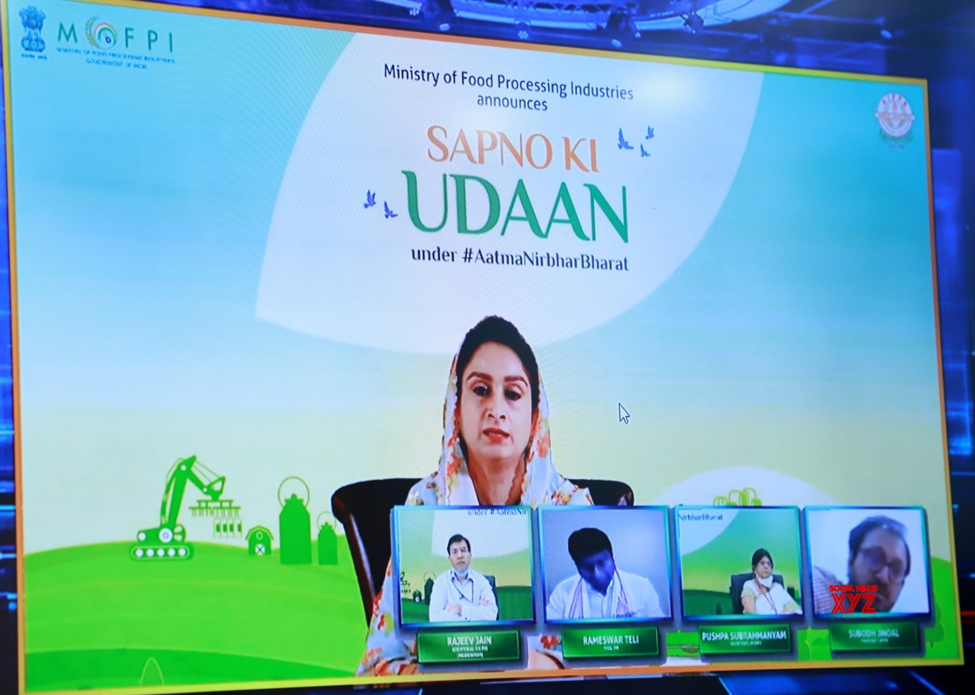 "New Delhi: Harsimrat Kaur Badal launches ""Sapno Ki Udaan"" under Atma Nirbhar Bharat #Gallery"