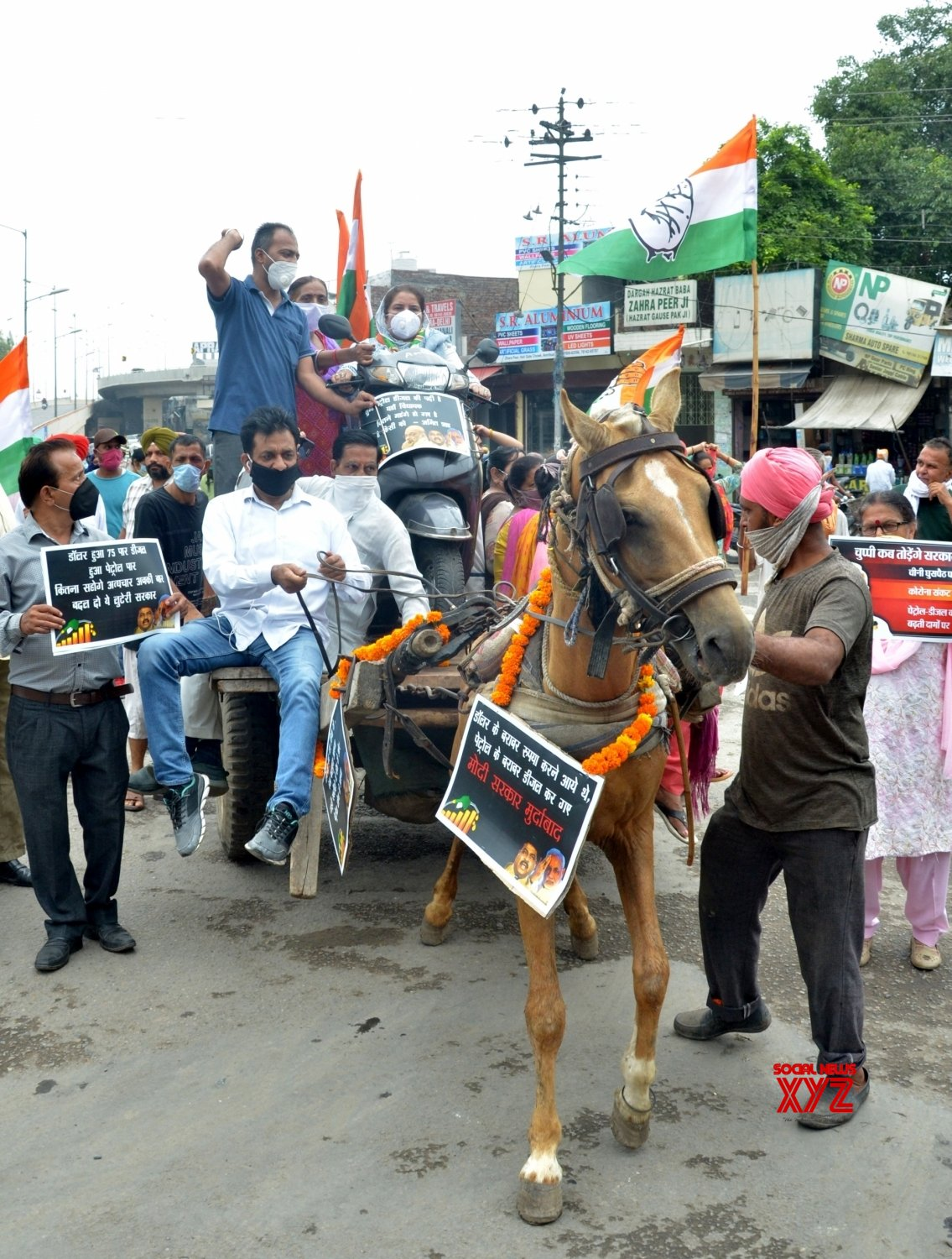 Amritsar: Congress protests against fuel price hike (Batch - 2) #Gallery