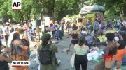 NYC encampment to defund police enters 7th day (Video)