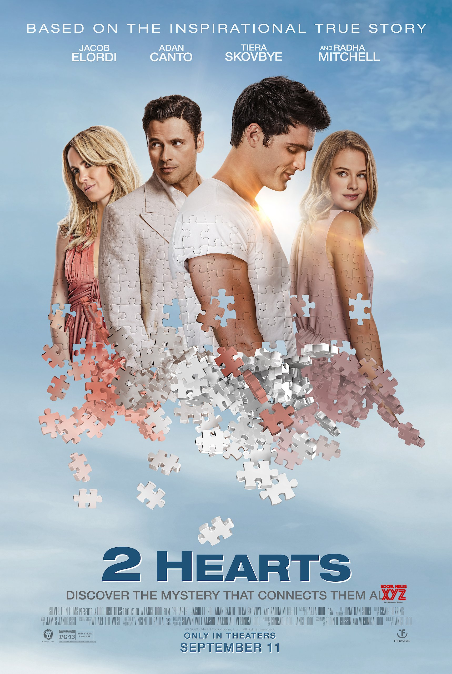 2 Hearts Movie HD Poster