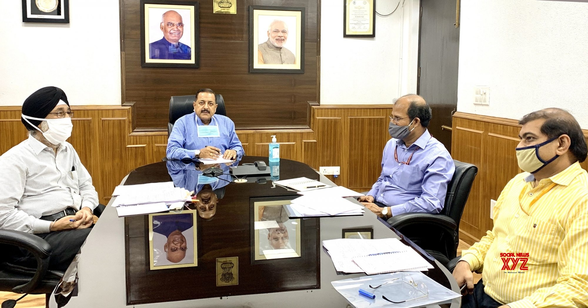 New Delhi: Jitendra Singh holds review meeting with MDONER and NEC #Gallery