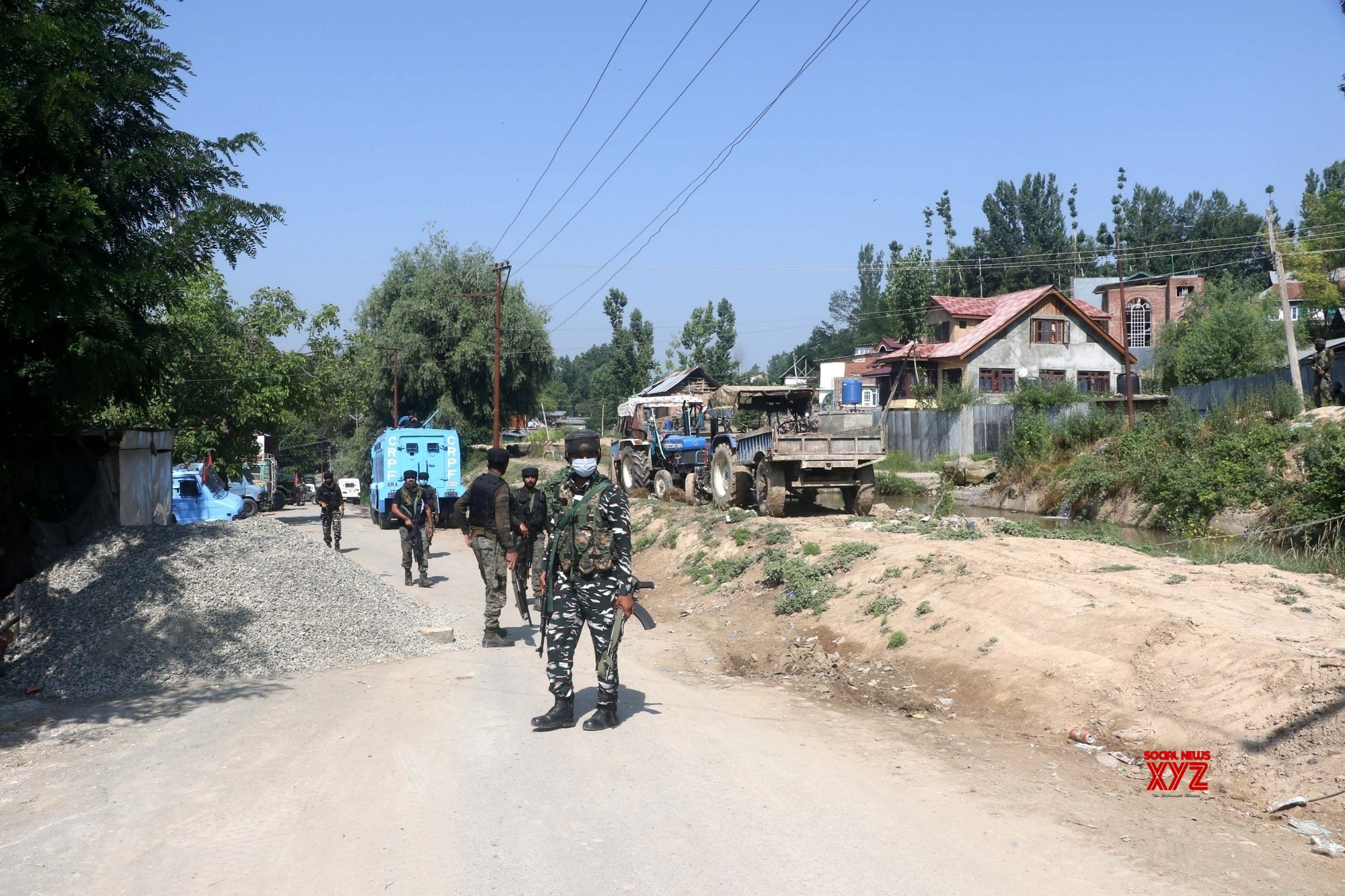 Major encounter underway at Tral in South Kashmir