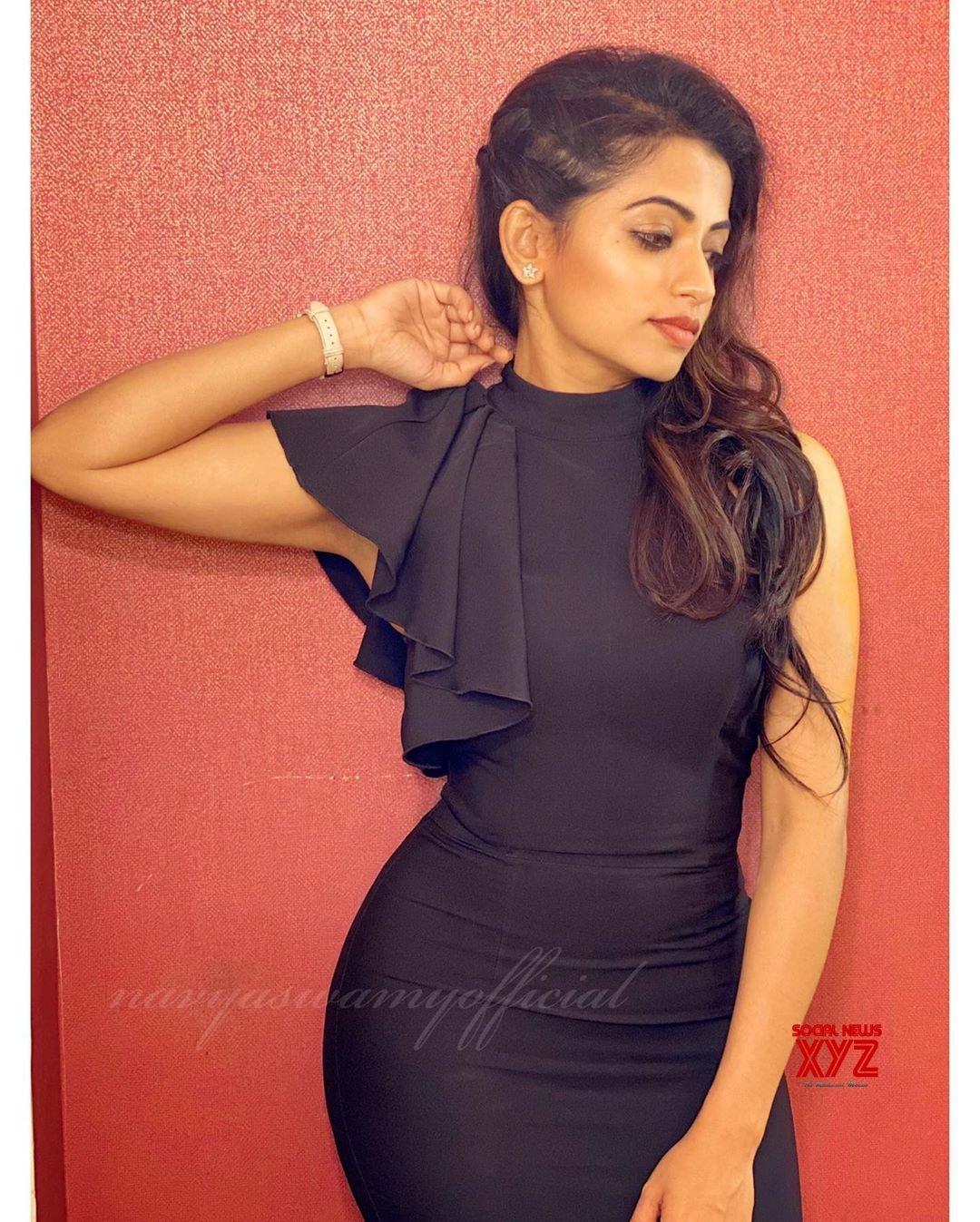Actress Navya Swamy Latest Glam Stills
