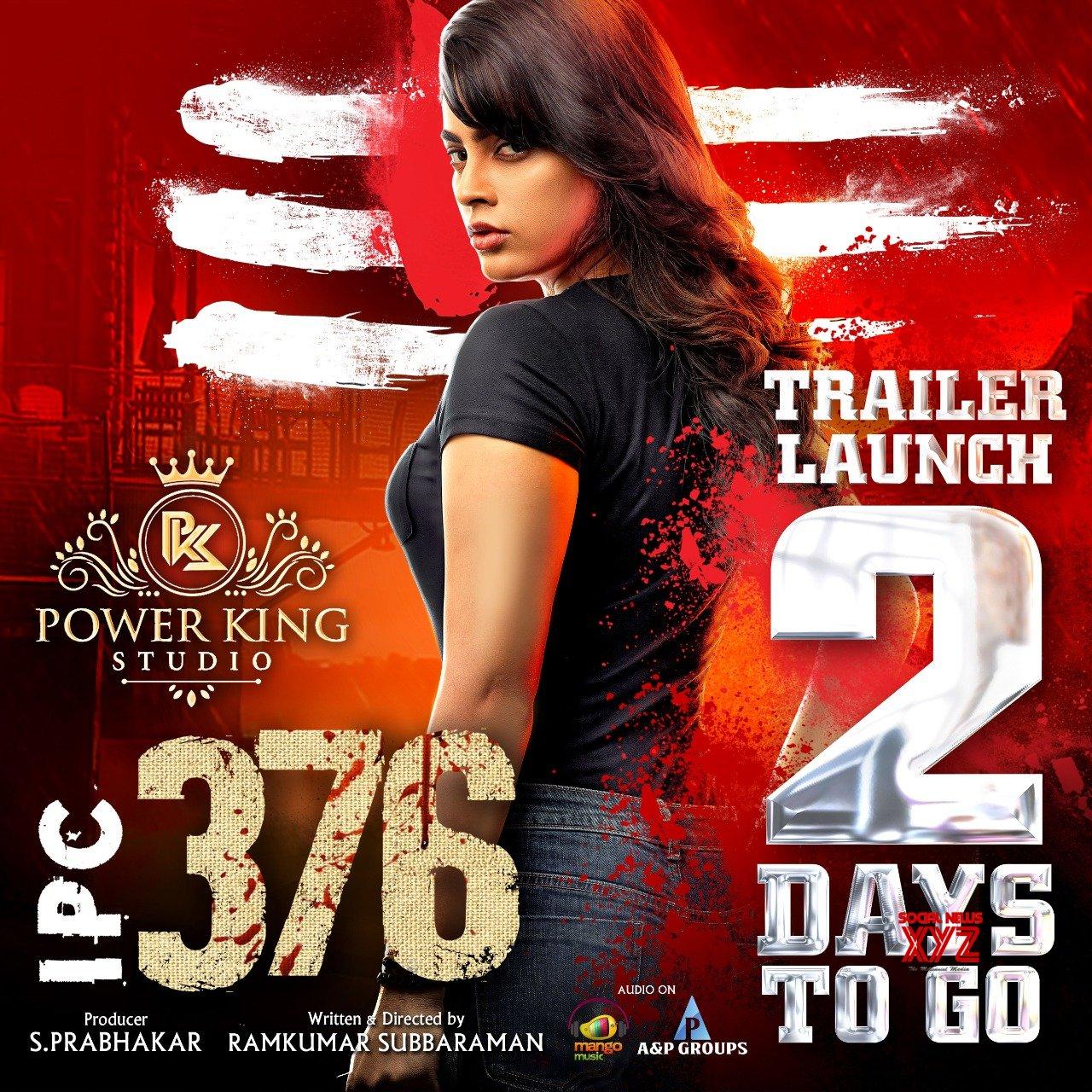 Nandita Swetha's IPC 376 Movie Trailer 2 Days To Go Poster