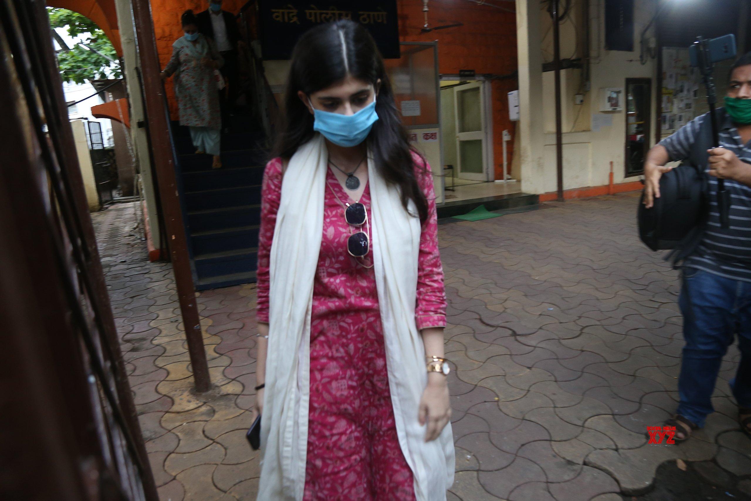 Actress Sanjana Sanghi At Bandra Police Station Gallery