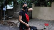 Actress Shruti Haasan Spotted Jogging In Hyderabad HD (Video)
