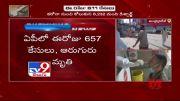 Coronavirus Outbreak : 611 fresh positive cases in Andhra Pradesh - TV9 (Video)