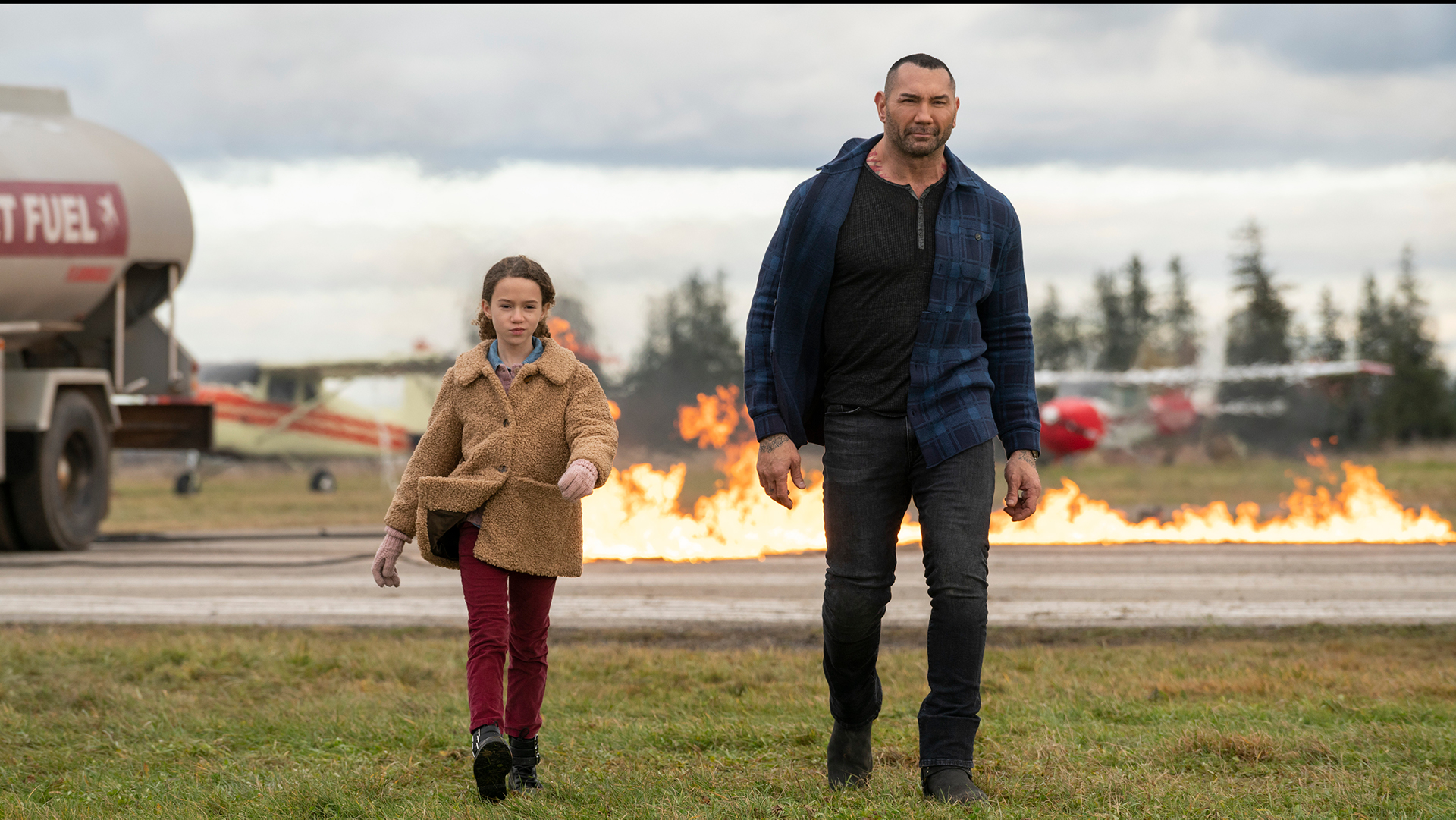 My Spy Review: Dave Bautista's Spy Thriller is Watchable! But It's Still a Passable Flick(Rating: **1/2)
