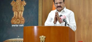 New Delhi: Vice President M. Venkaiah Naidu pays tributes to late M.P. Veerendra Kumar at a virtual commemorative meeting, in New Delhi on July 22, 2020. (Photo: IANS/PIB)