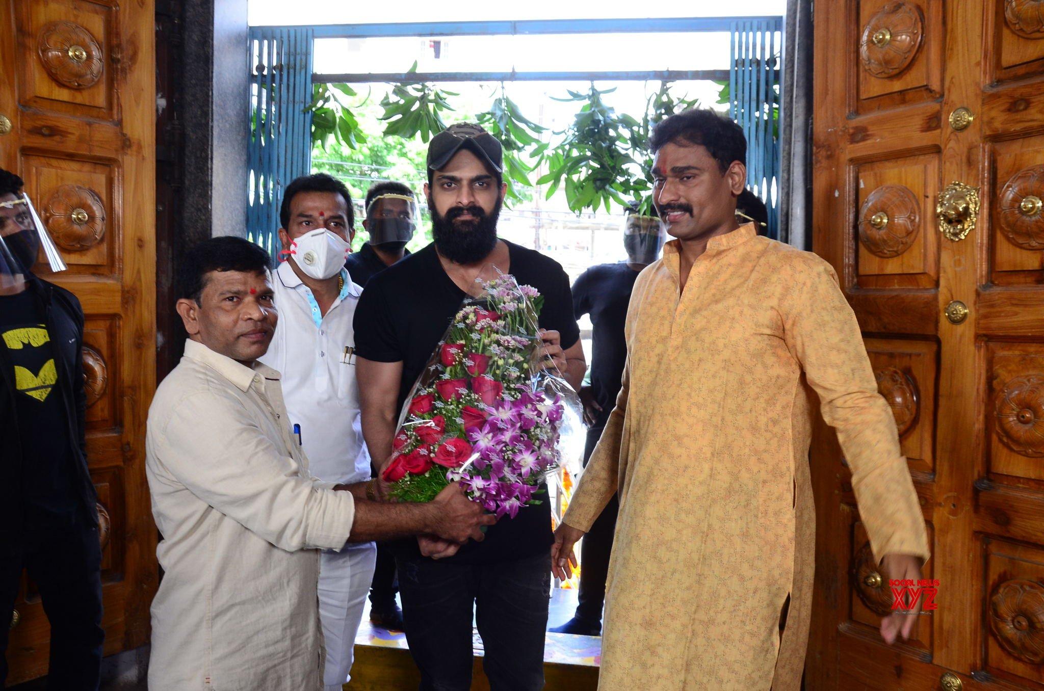 Sivaji Raja's Son Vijay Raja's And Jaya Durga Devi Multimedia Banner's Production No 1 Movie Launch Gallery