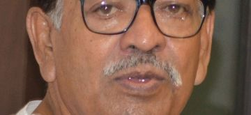 Kolkata : Veteran Congress leader and West Bengal Pradesh Congress Committee (WBPCC) president Somen Mitra died at a city hospital in Kolkata early on July 30, 2020. He was 78. (File Photo: IANS)