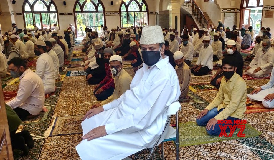 Bengaluru: People offer Eid - Ul - Zuha namaz at Noor Masjid (Batch - 1) #Gallery
