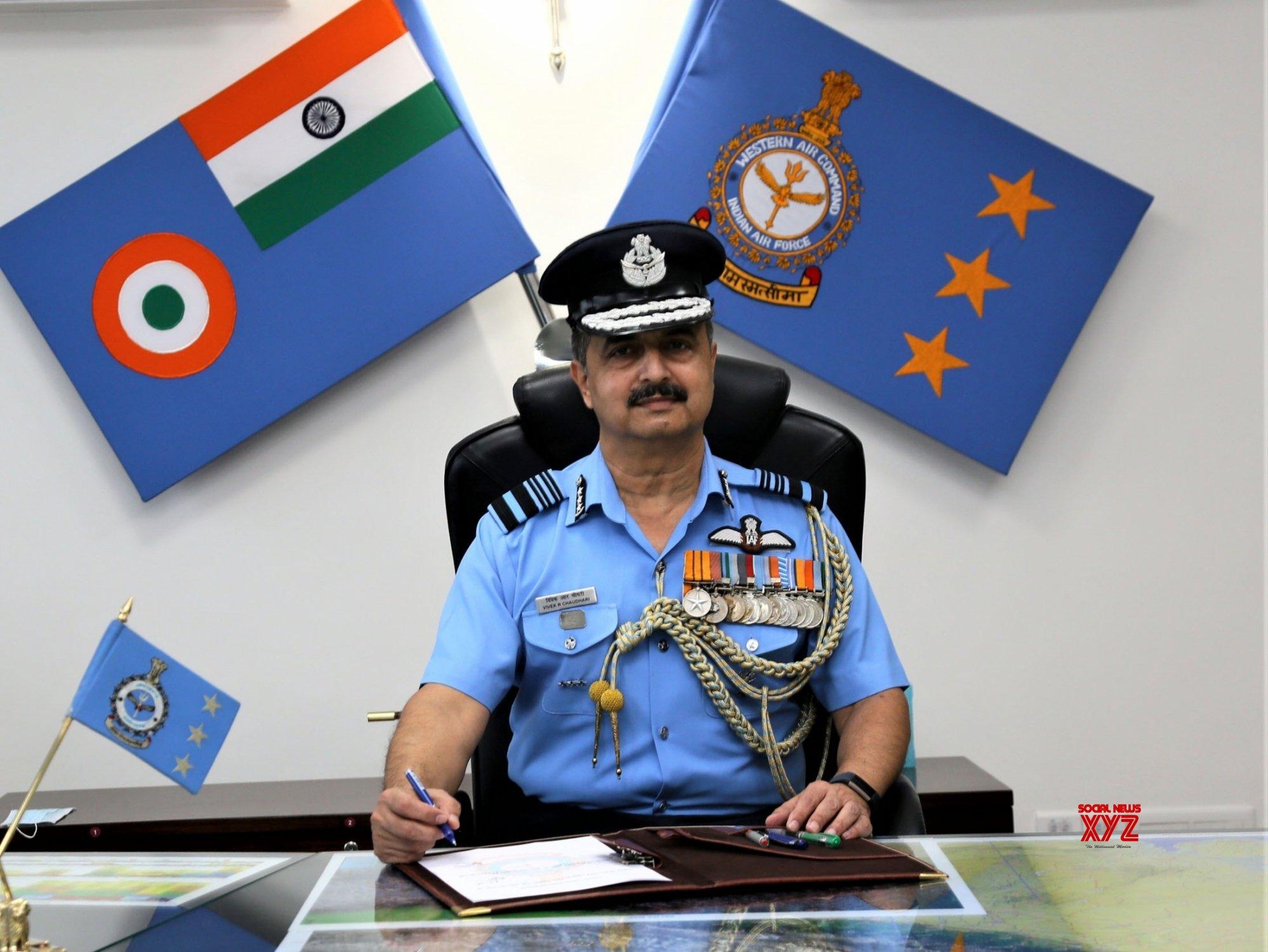 New Delhi: Air Marshal V.R. Chaudhari takes over as AOC - in - C Western Air Command #Gallery