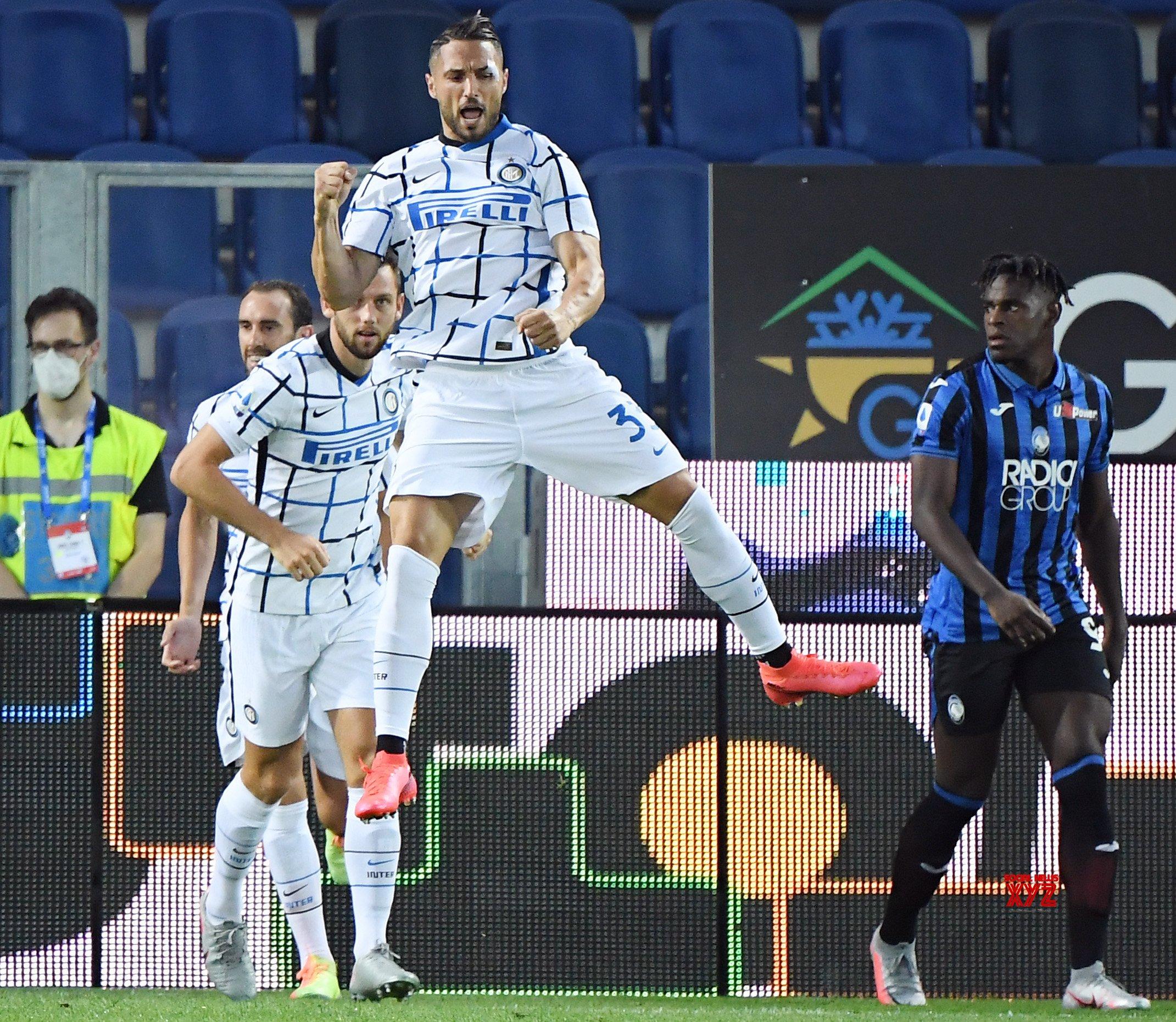 ITALY - BERGAMO - FOOTBALL - SERIE A - ATLANTA VS FC INTER #Gallery