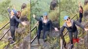 Actress Rakul Preet Singh Trekking In The Mountains (Video)
