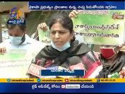 Amaravati Parirakshana Samiti Women JAC Protest | Against Three Capital  (Video)