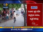 Two Injured as Clashes between YCP & TDP Activists | in Chirumamilla | Guntur Dist  (Video)
