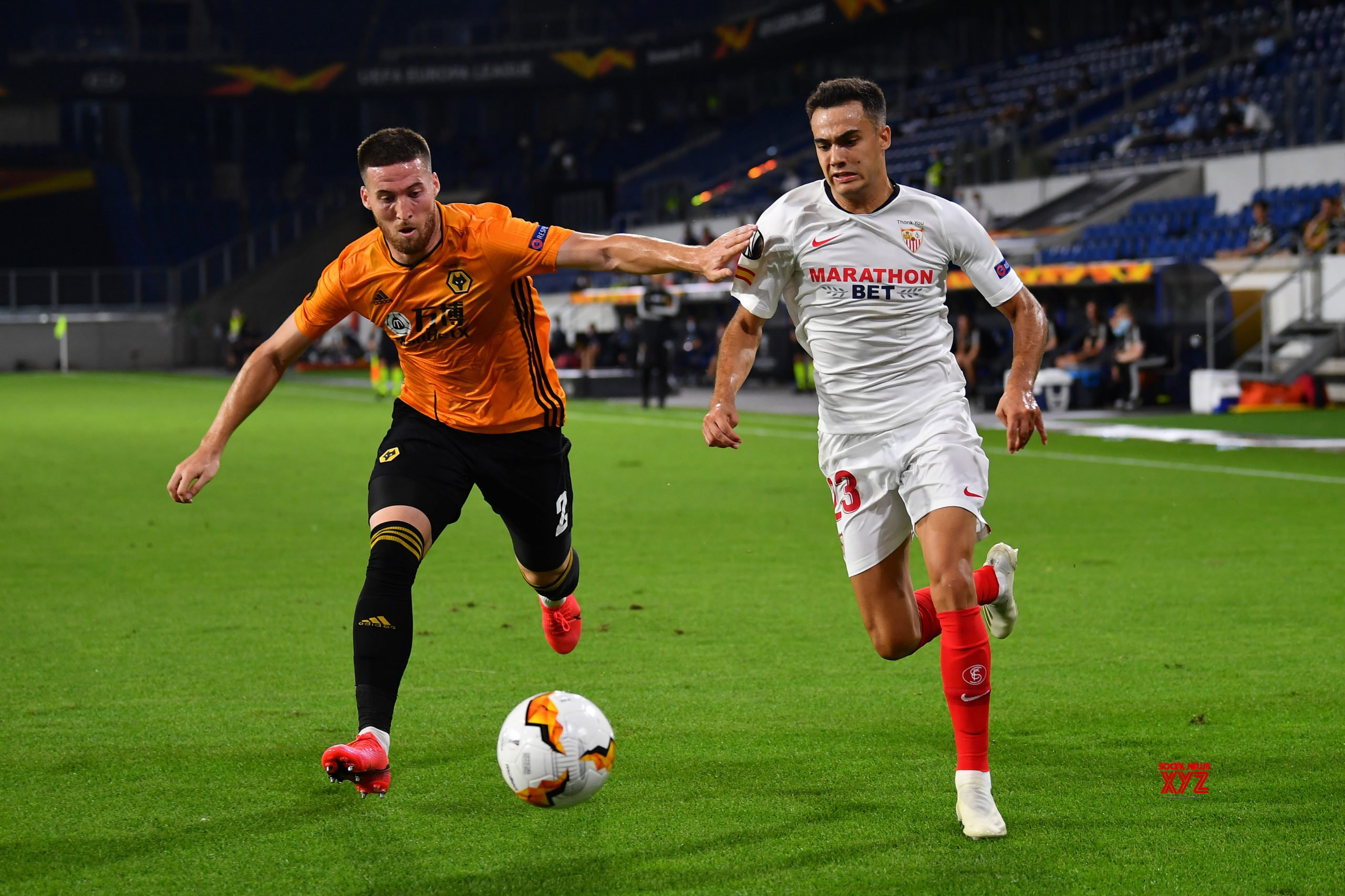 GERMANY - DUISBURG - FOOTBALL - UEFA EUROPA LEAGUE - WOLVERHAMPTON VS SEVILLA #Gallery