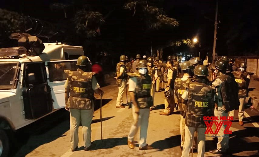 'It took police firing to control Bengaluru riot'