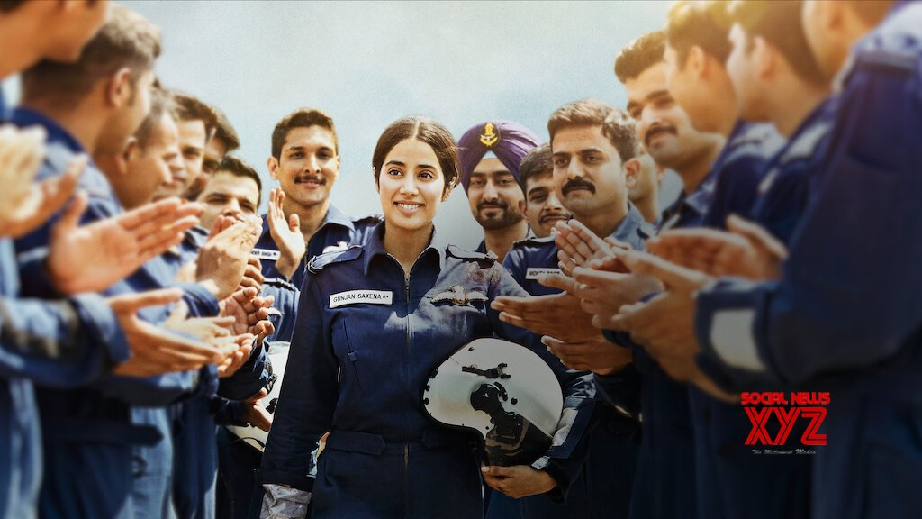 Janhvi Kapoor S Gunjan Saxena The Kargil Girl Movie Is Now Streaming On Netflix Social News Xyz
