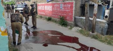 Srinagar: Two Jammu and Kashmir policemen were killed while another was injured after terrorists fired upon a police party at the Nowgam Byepass in Srinagar on Aug 14, 2020. The police has cordoned off the area. The incident comes on the eve of Independence Day when security is on high alert across the Kashmir Valley. (Photo: IANS)