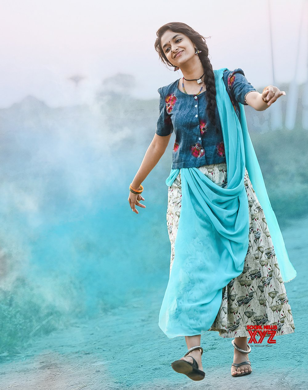 Keerthy Suresh Good Luck Sakhi Movie Teaser Launched By Prabhas - Social  News XYZ