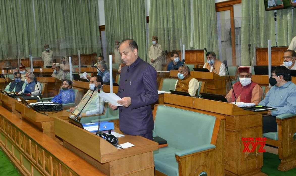 Shimla: Himachal CM at the State Assembly during Monsoon Session #Gallery