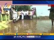 Slum Villages in Kadapa Drenched in Water | Visited by Dy CM Amjad Bhasha  (Video)