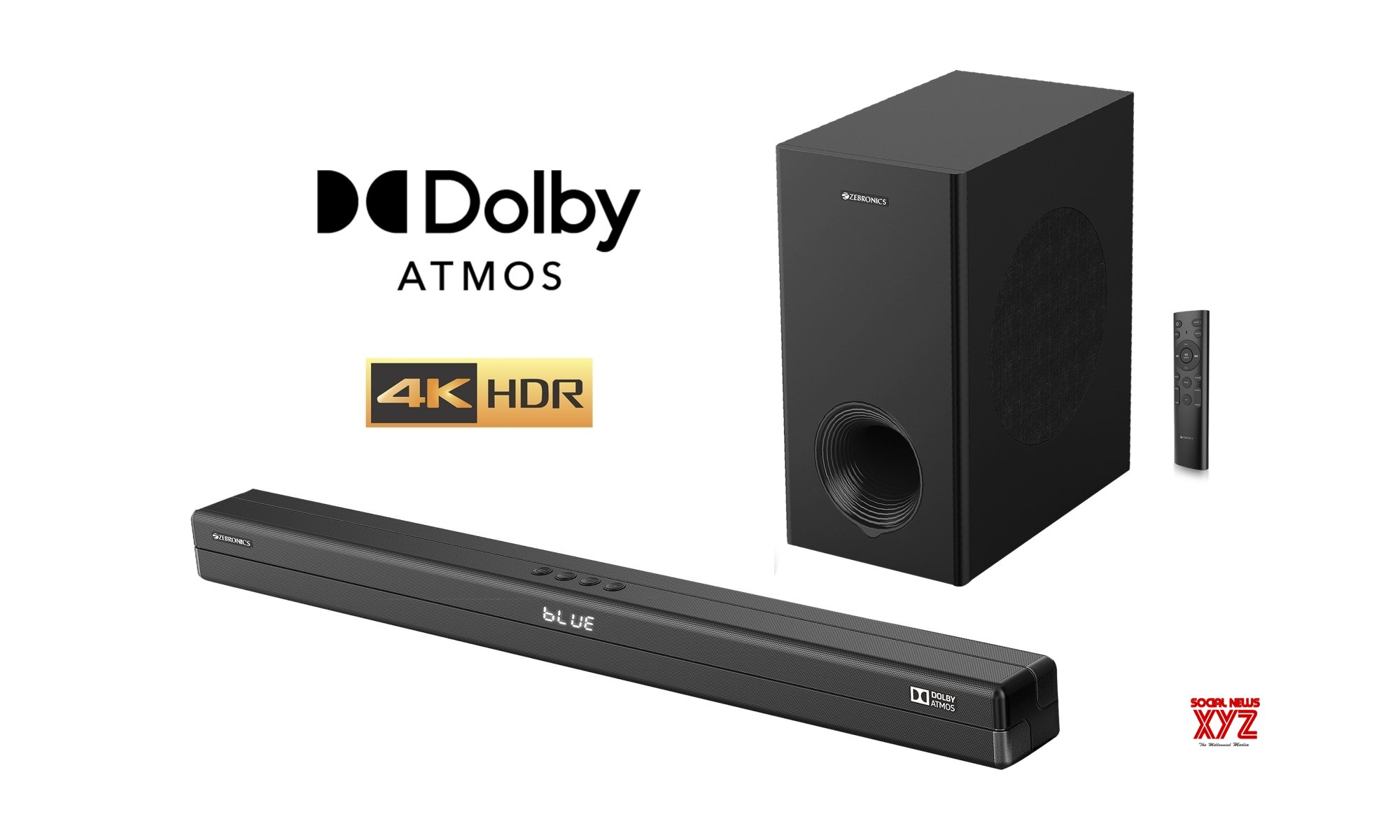 Zebronics, first Indian brand to launch Dolby Atmos soundbar at Rs 17,999