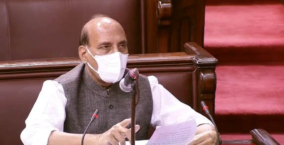 New Delhi: Rajnath Singh makes a statement on India - China issue in RS #Gallery