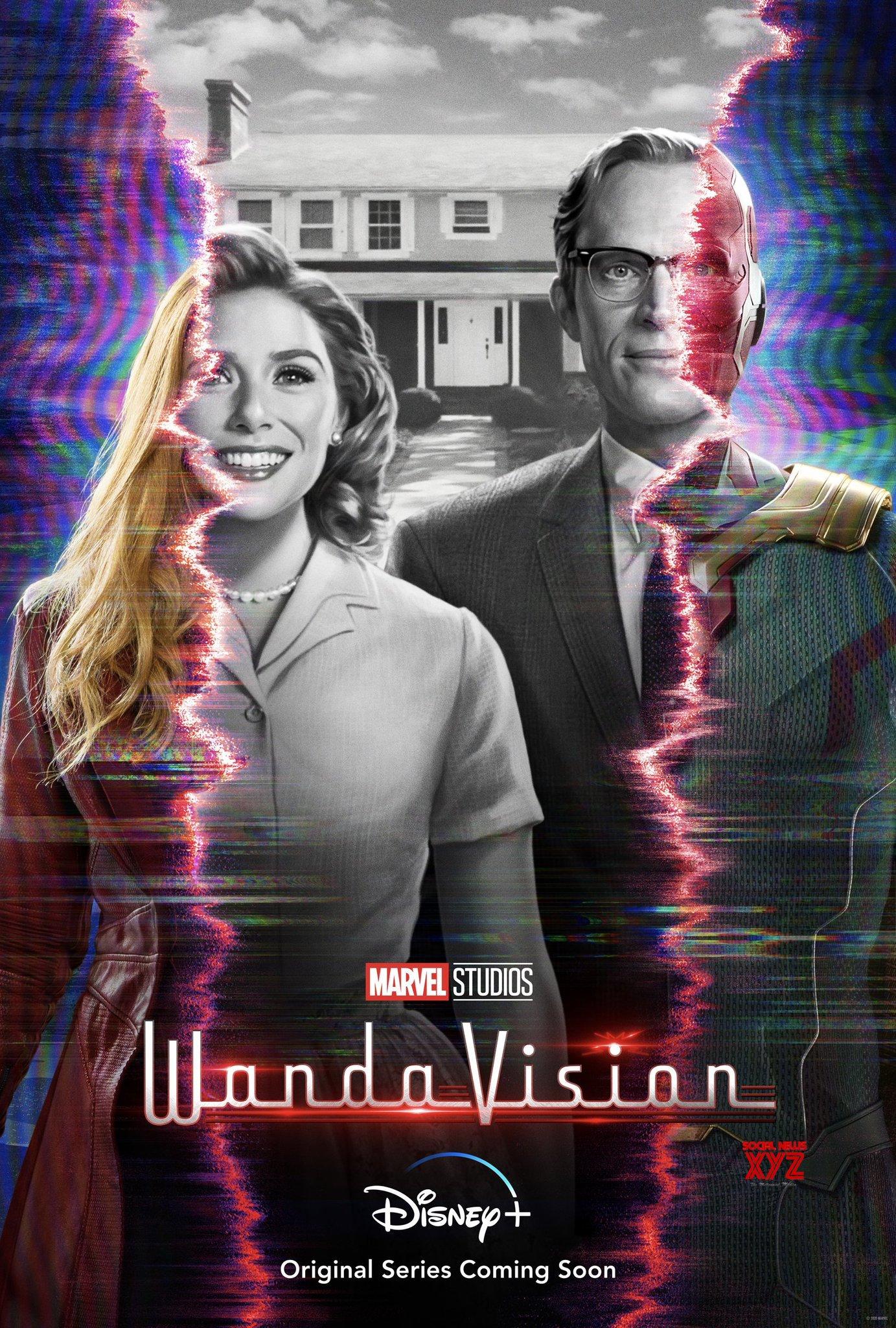 WandaVision Series Latest Poster