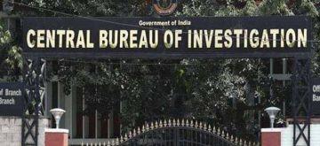 Central Bureau of Investigation.