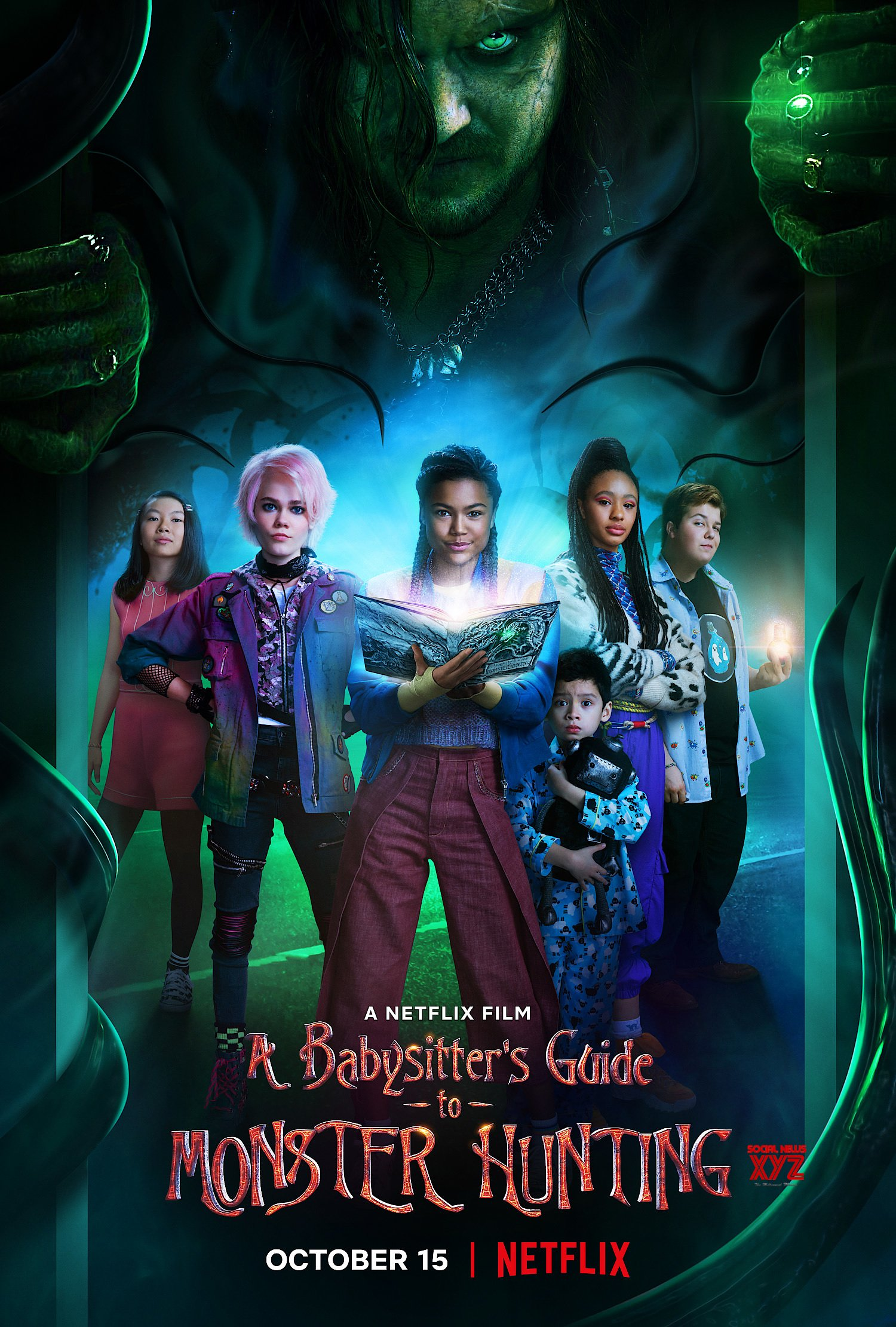 A Babysitters Guide To Monster Hunting Movie HD Poster - Social News XYZ