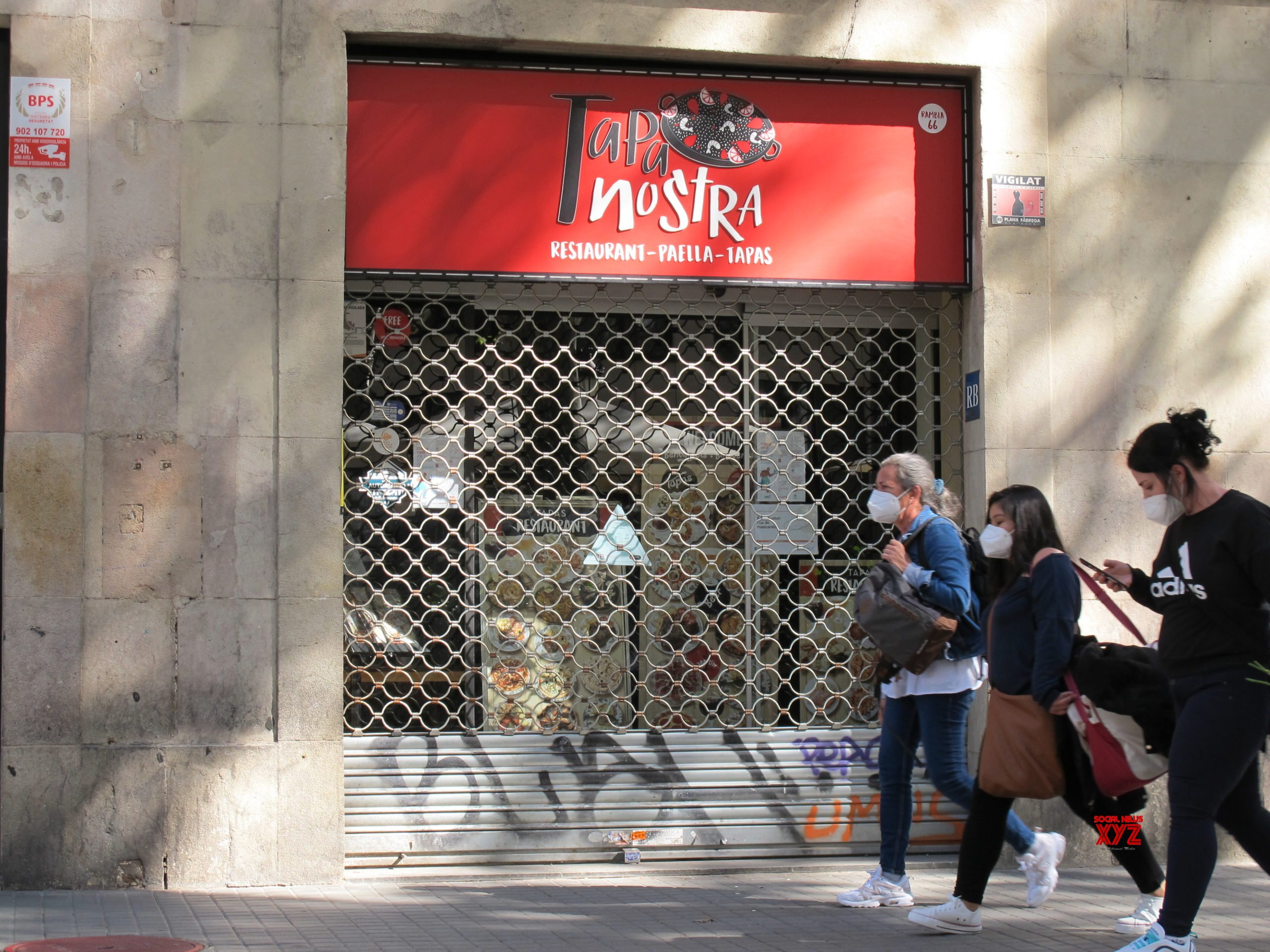 SPAIN - CATALONIA - COVID - RESTAURANT&BAR - CLOSE #Gallery