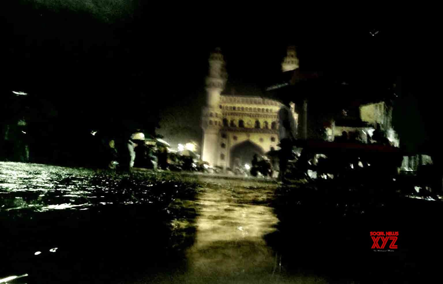 Hyderabad: Hyderabad remains submerged under water as heavy rains continue to lash the city #Gallery