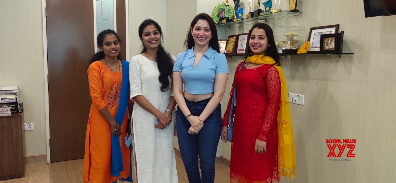Tamannaah thanks doctors, hospital staff after Covid recovery