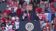 Trump goes after Biden family  at Georgia rally (Video)