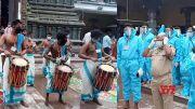 Dussehra Sharan Navarathrulu Celebrations Started At Indrakeeladri   Vijayawada   Manastars  (Video)